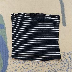 🖤 [nwot] ae ribbed stripe bandeau tube top